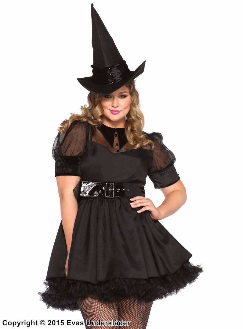 Bewitching Witch Costume, plus size